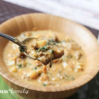 Hearty Pumpkin Potato Soup Recipe