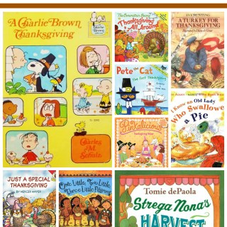 A Collection of Thanksgiving picture books