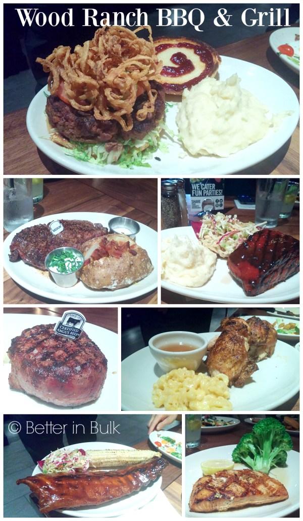 Wood Ranch BBQ & Grill menu items