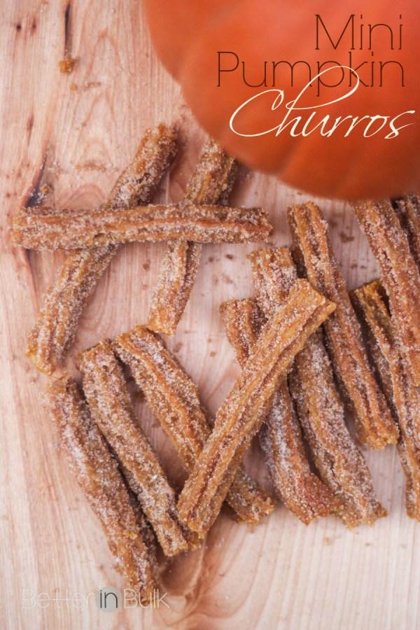 mini pumpkin churros recipe by Bobby Flay
