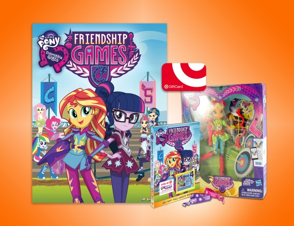 My Little Friendship Games prize pack