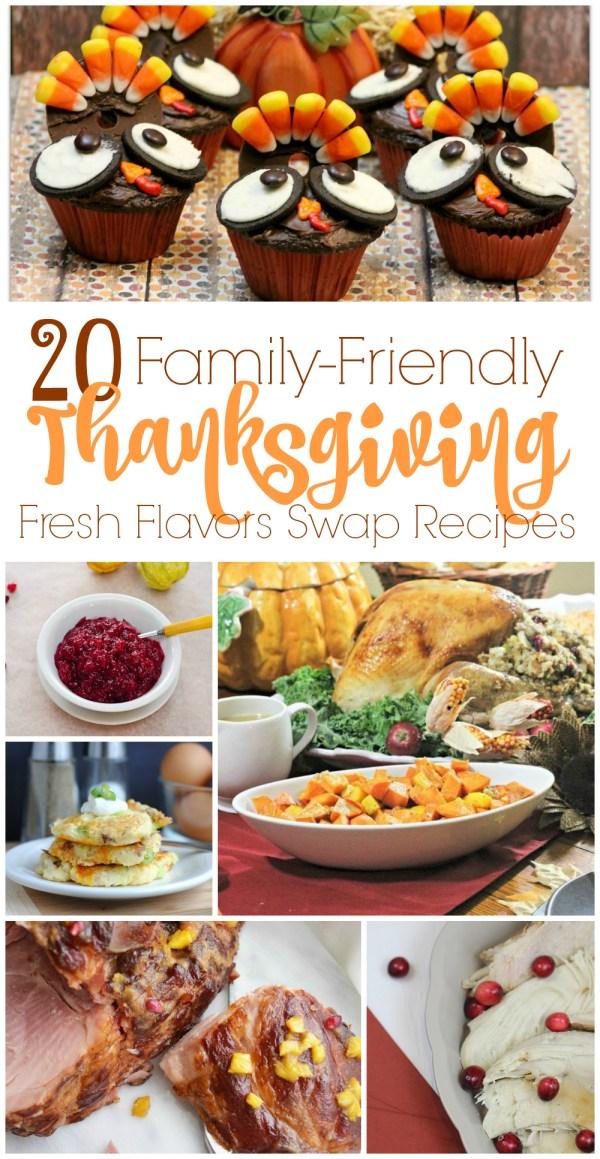 20 Family-Friendly Thanksgiving Recipes - Fresh Flavors Swap