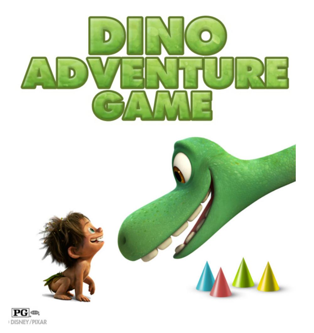 Dino Adventure Game The Good Dinosaur at Food Fun Family