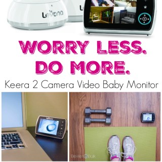 Worry Less. Do More. Keera 2 Camera Video Baby Monitor