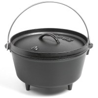 Lodge Deep Camp Dutch Oven - Cast Iron, 5 qt.