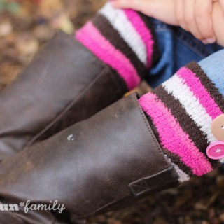 DIY Boot Cuffs from Food Fun Family