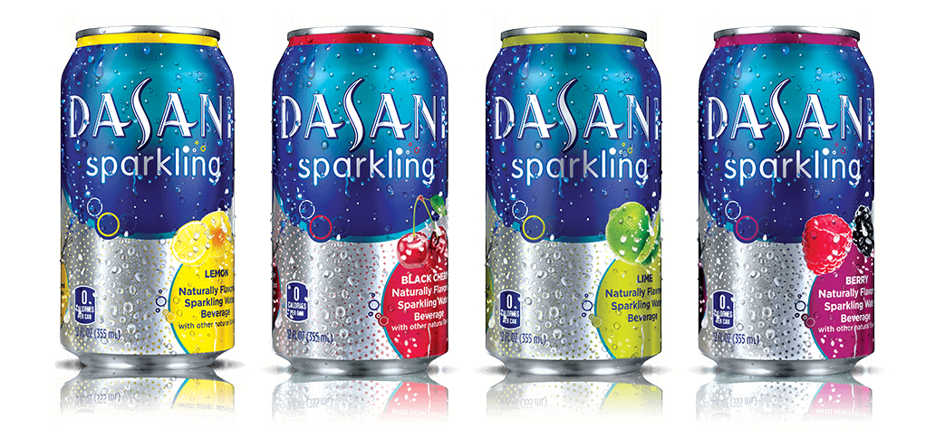 Dasani sparkling water