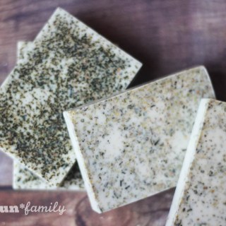 Easy DIY Ginger White Tea Cocoa Butter Soap