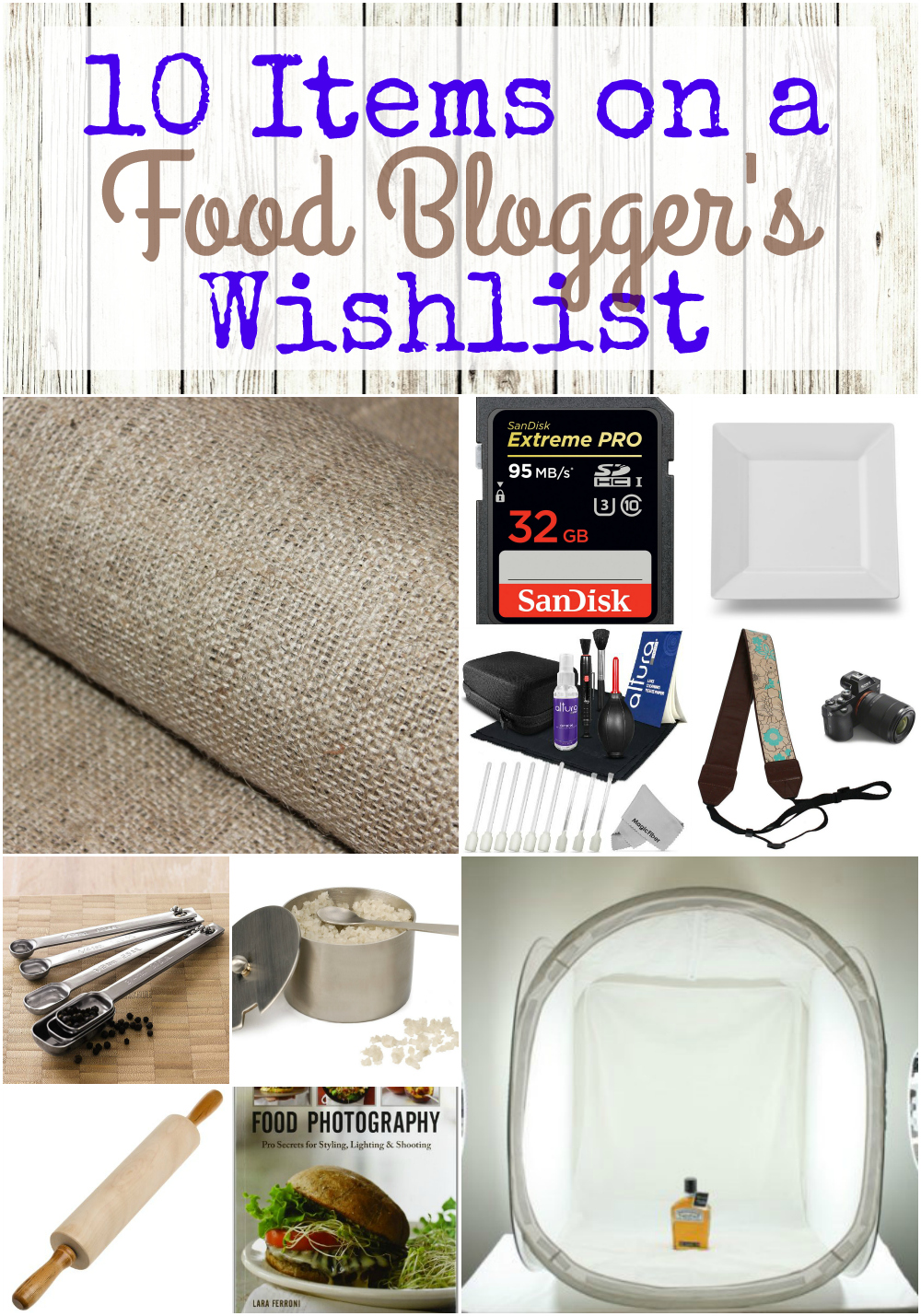 Holiday Gift guide: 10 items on a food bloggers wishlist from Food Fun Family