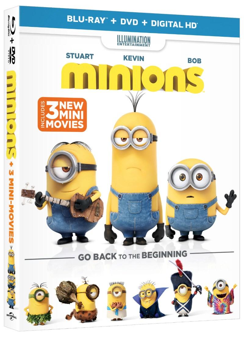 Minions DVD