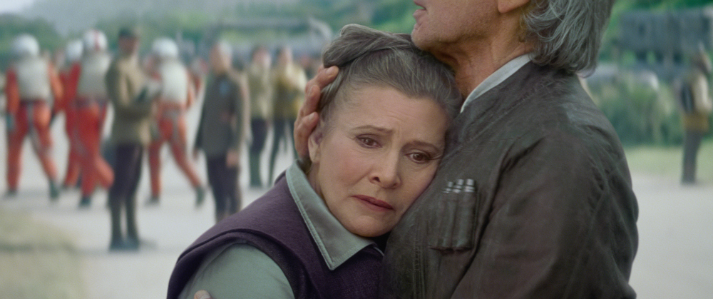 Star Wars: The Force Awakens - Leia and Han Solo