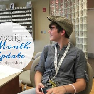 Invisalign Teen Treatment 8 Month Update #InvisalignMom