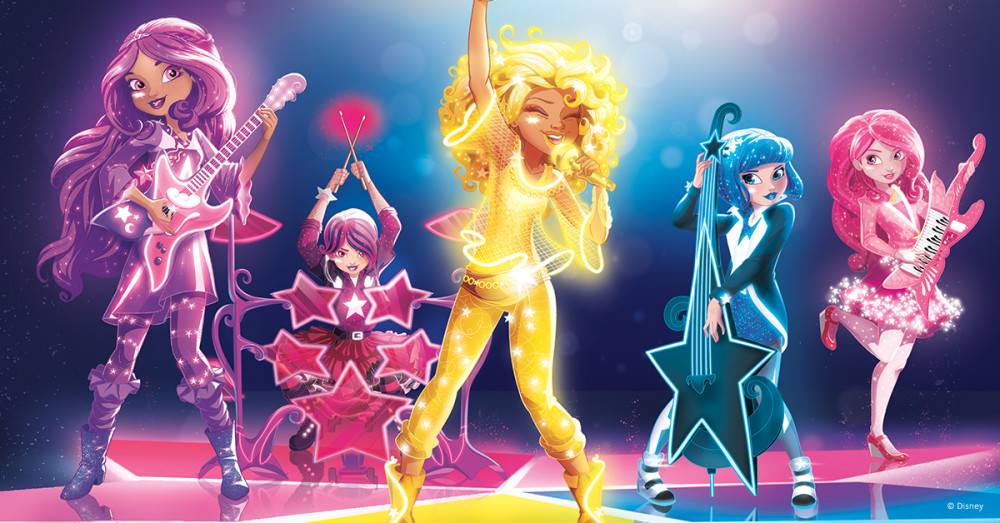 Never Stop Wishing: Star Darlings book Series from Disney