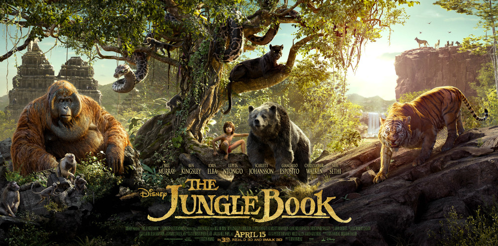 Disney's The Jungle Book movie banner