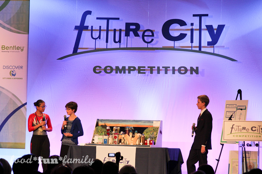 Future City Competition 2016: Waste Not Want Not - inspiring middle school students from regions across the United States, Egypt, and China to think like engineers and create innovative FUTURE cities to solve problems that we face today. AD