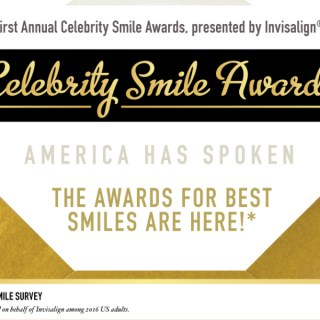 First Annual Celebrity Smile Awards (Plus a Special Giveaway!)