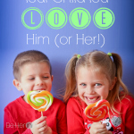 100 ways to show your child you love him
