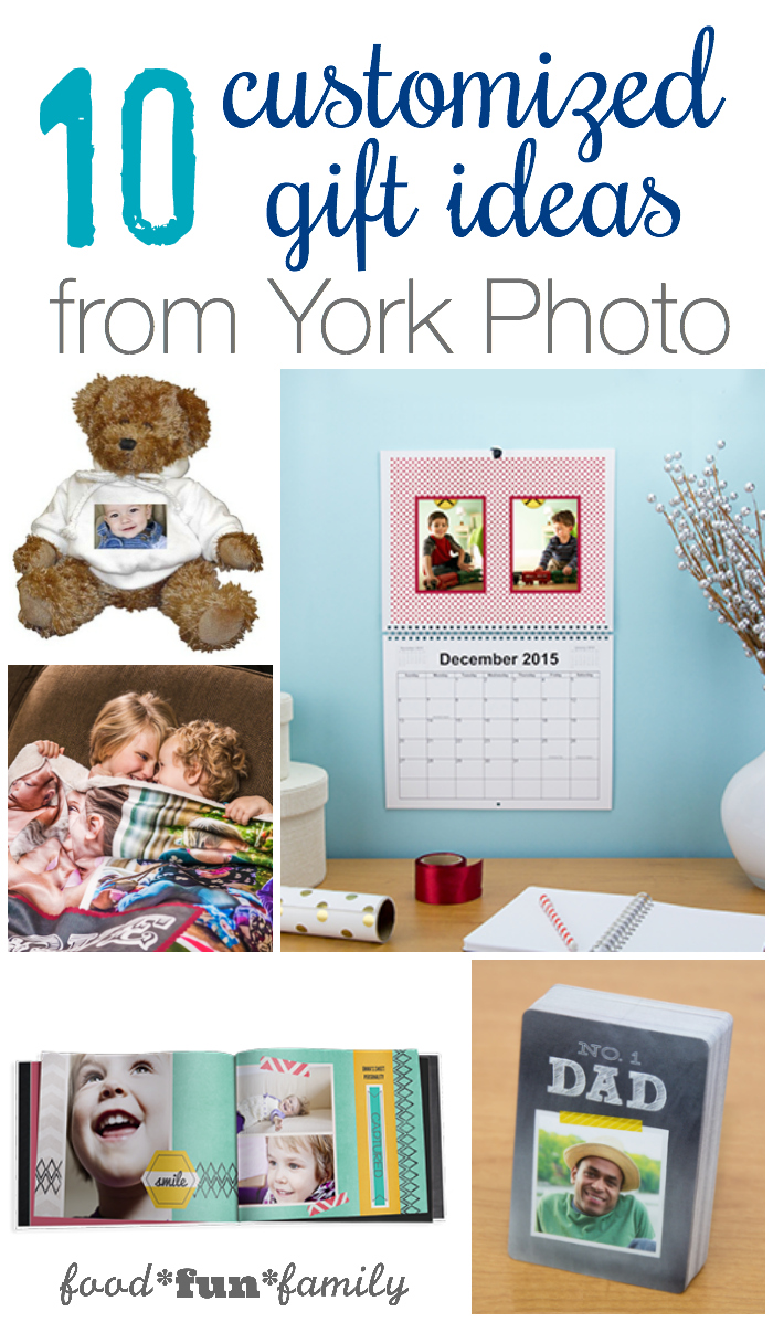 10 customized gift ideas from York Photo