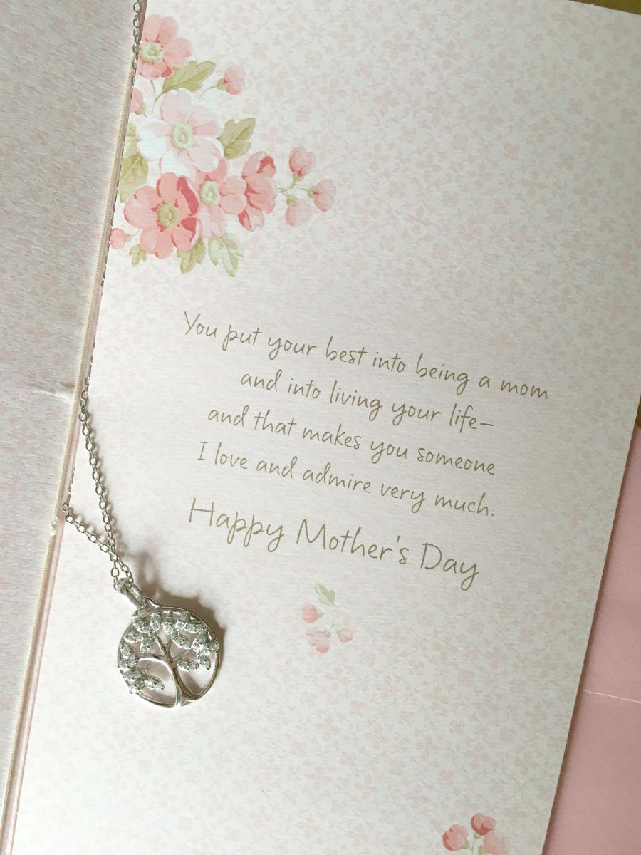 Hallmark Mother's Day card