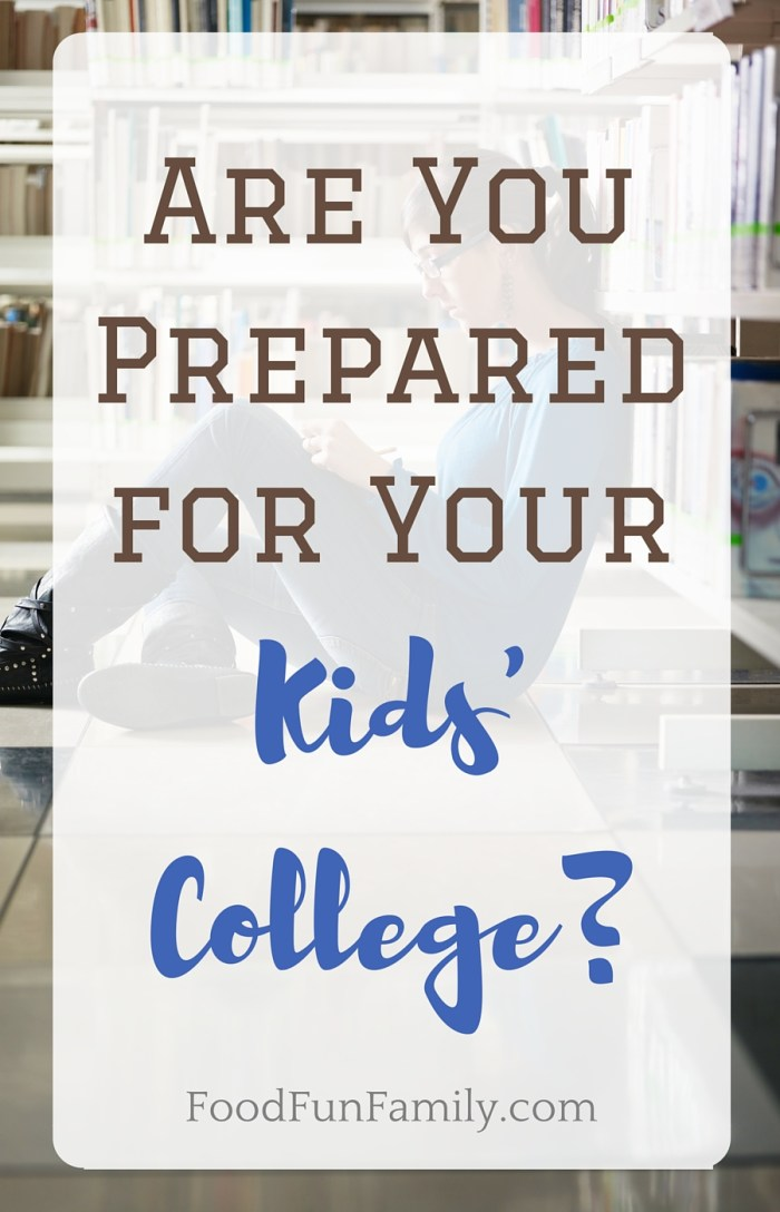 Are you prepared for your kids' college? There are a few things we didn't consider when our first child went to school, and some helpful tips we've learned since!