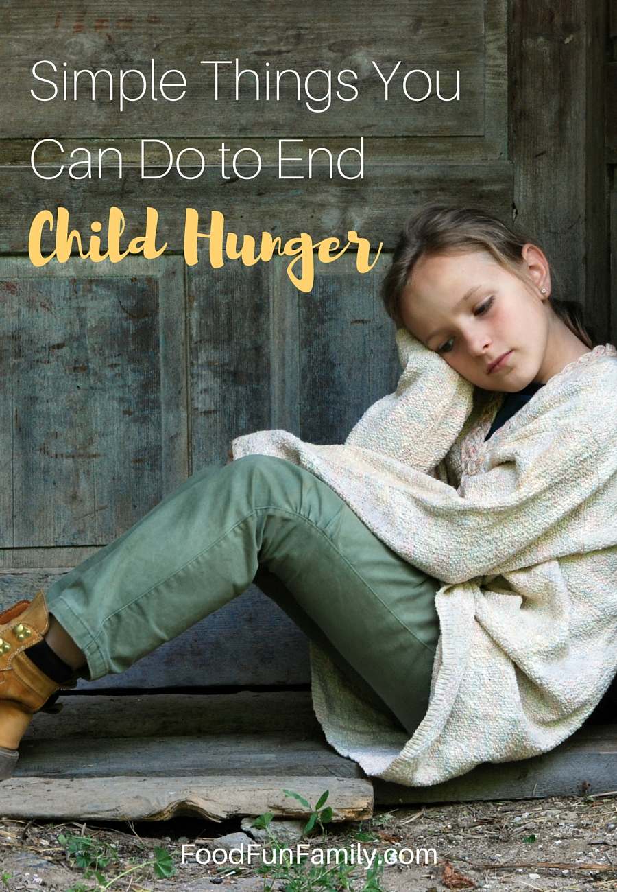 Simple Things You Can Do to End Child Hunger #ChildHungerEndsHere