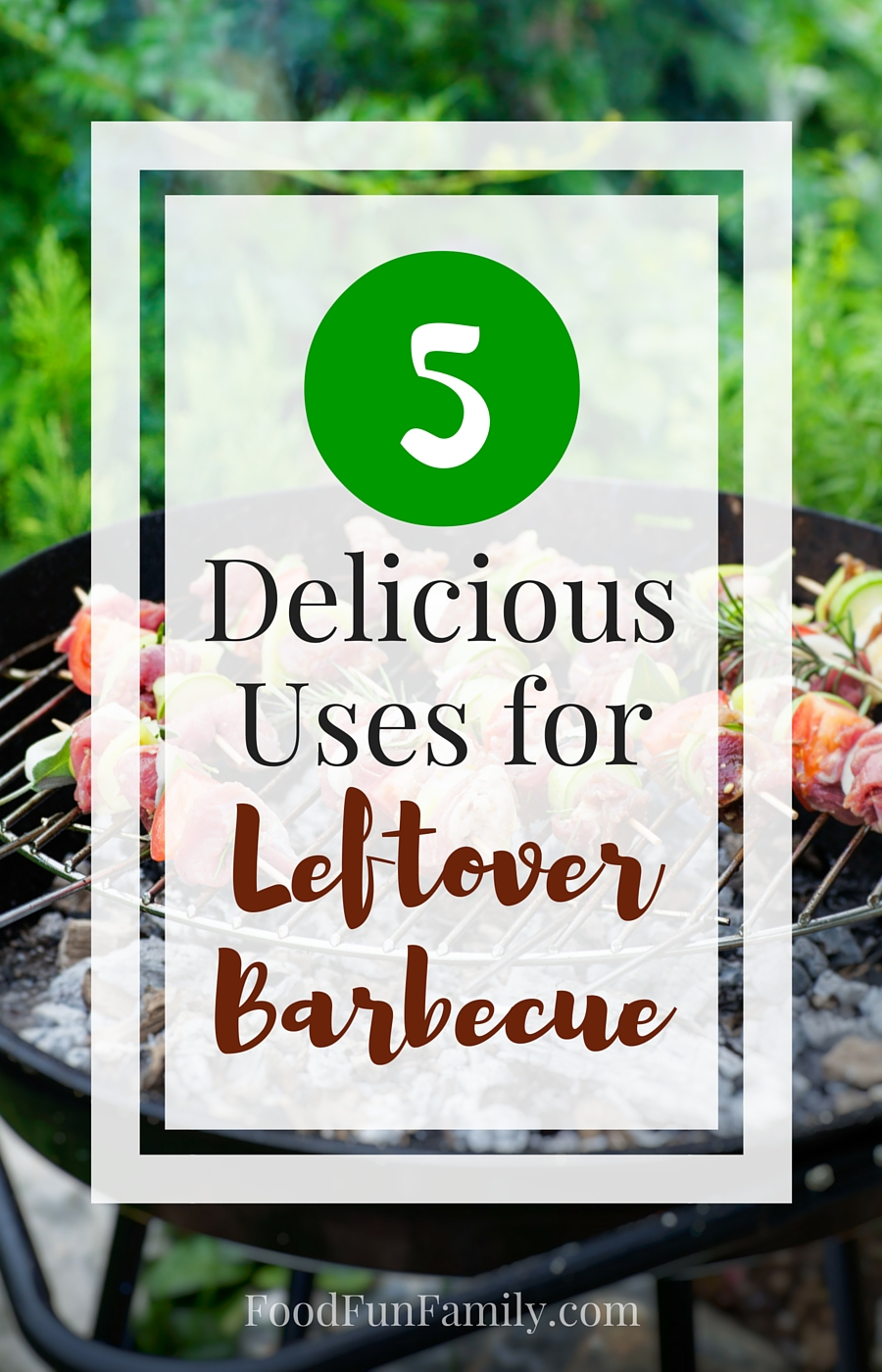 5 Delicious Uses for leftover barbecue - if you've just had a BBQ and you're left with leftover meat, you've got to try some of these delicious meal ideas!