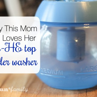 Why This Mom Still Loves Her Non-HE Top Loader Washer