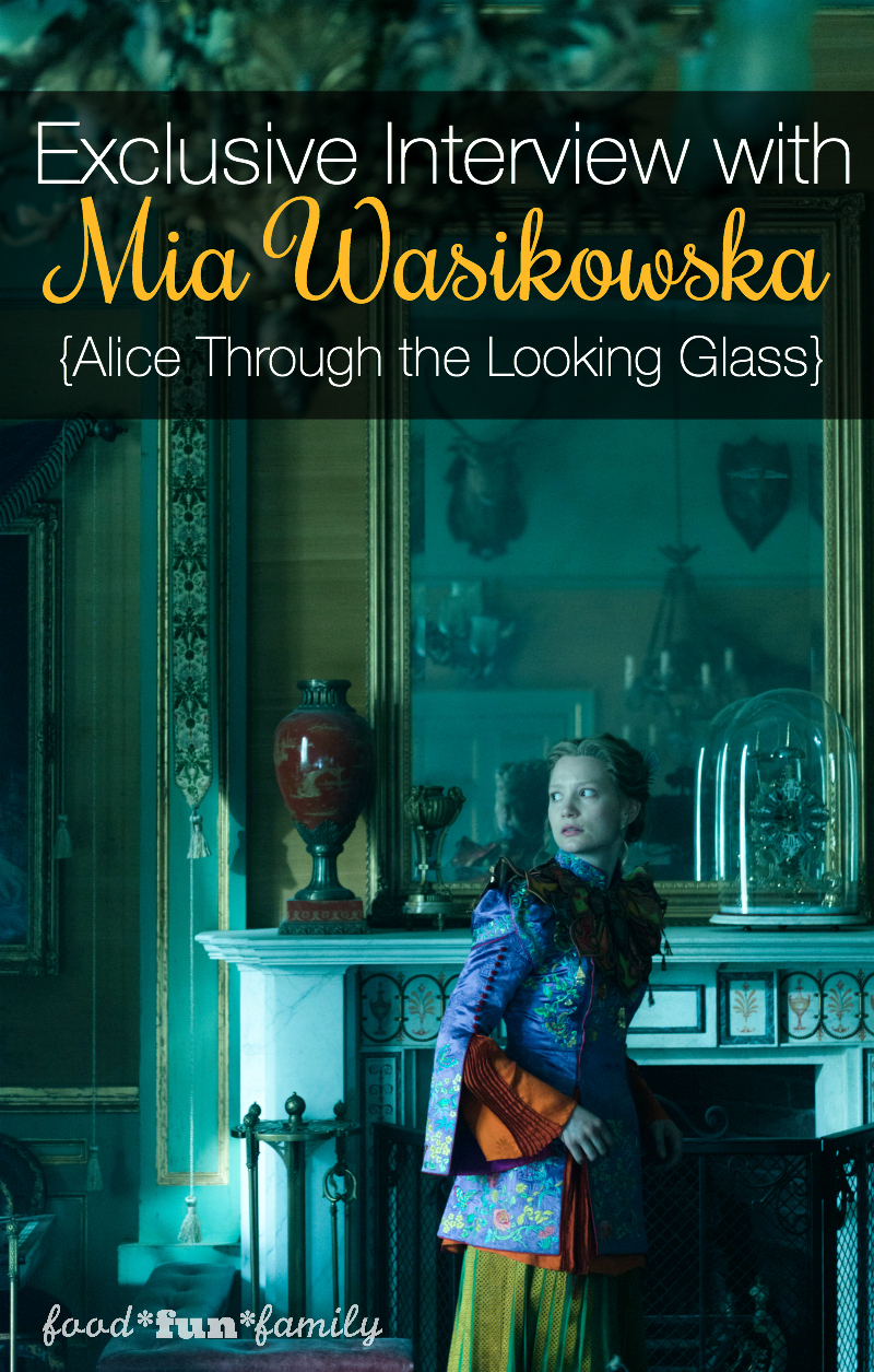 Exclusive Interview with Mia Wasikowska for Alice Through The Looking Glass