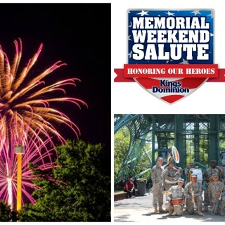 Memorial Day Salute at Kings Dominion