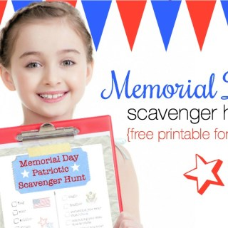 Memorial Day scavenger hunt feature
