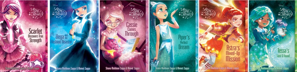 Star Darlings Dolls Collection Books 4-9