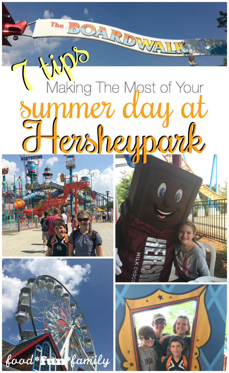 7 tips for making the most of your summer day at Hersheypark - This simple list is perfect for first-time Hersheypark goers or long-time fans