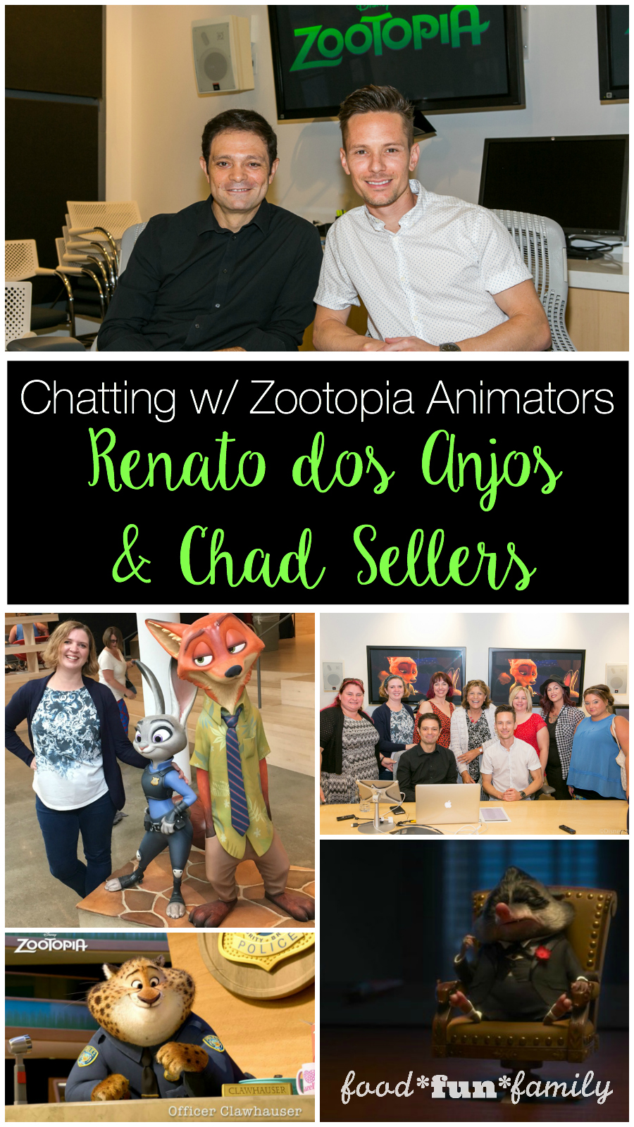 Chatting with Zootopia Animators Renato dos Ajos and Chad Sellers