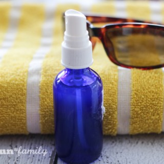 DIY face refresher spray