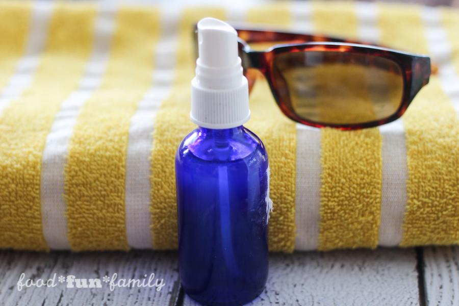 DIY face refresher spray