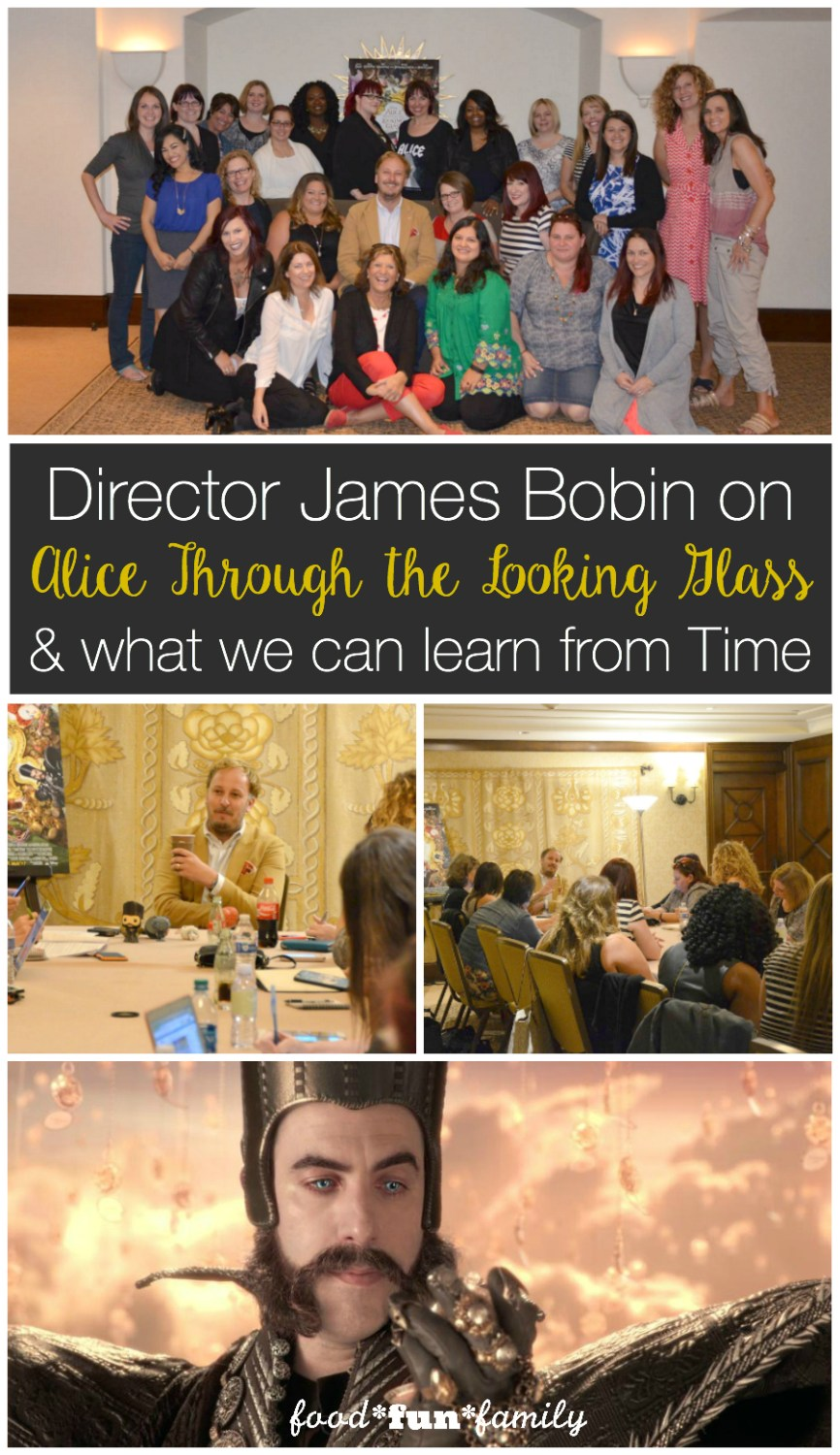 Director James Bobin on Alice Through the Looking Glass and what we can learn from Time