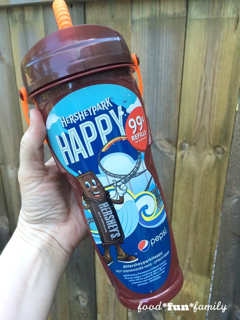 Hersheypark souvenir cups