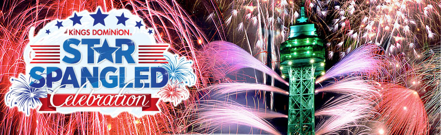 Kings Dominion Star Spangled Celebration