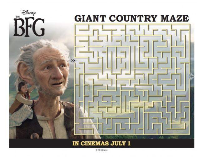 The BFG maze