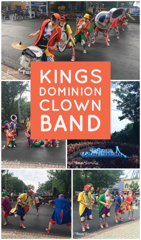 Kings Dominion KidsFest Clown Band