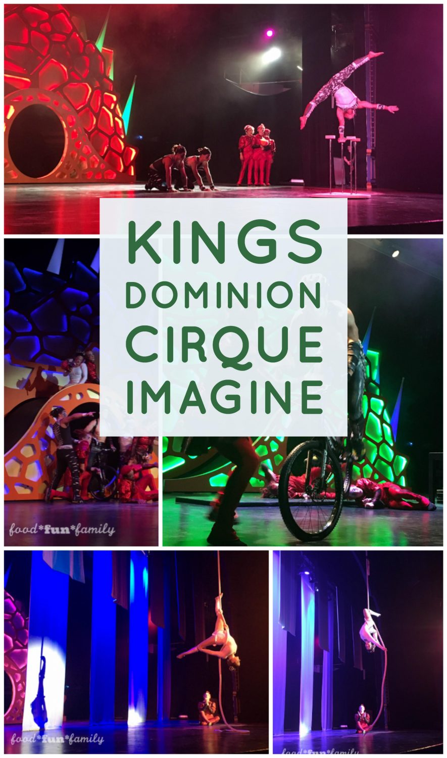Kings Dominion KidsFest - Cirque Imagine