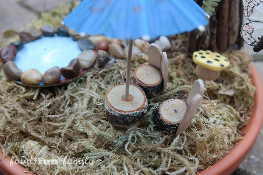 DIY miniature fairy garden