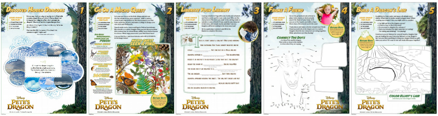 Pete's Dragon Activity pages - printables