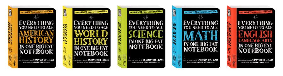 Big Fat Notebook series