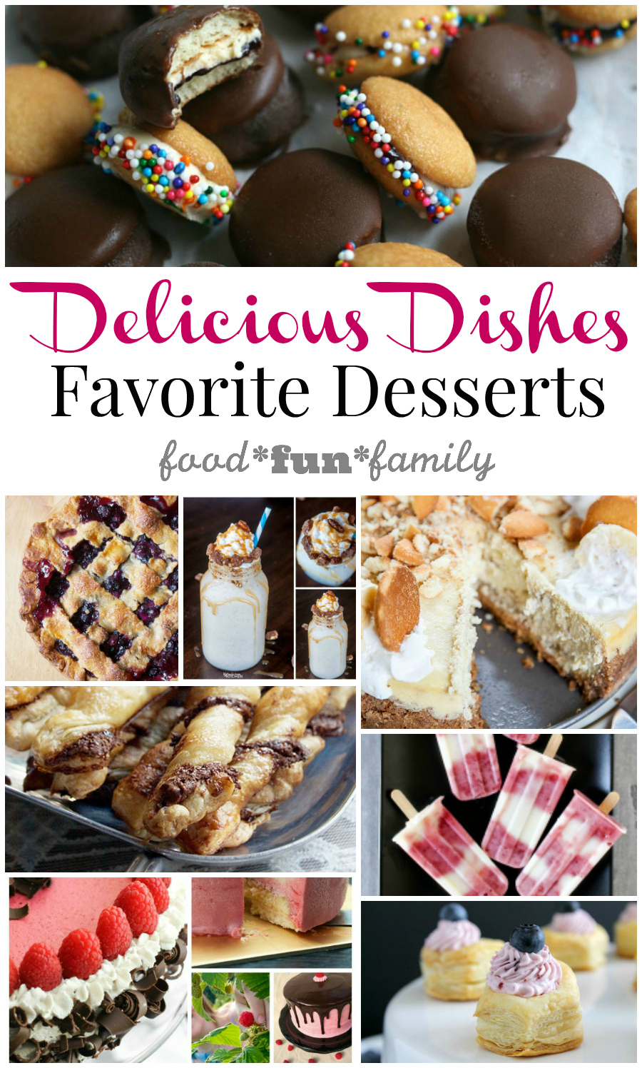 Party Desert Recipes: Delicious Dishes Recipe Party #30 {Favorite Summer Dessert