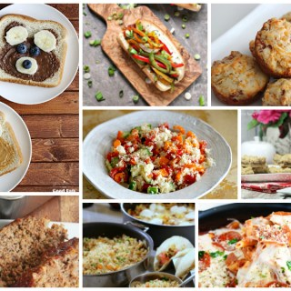 Delicious Dishes easy recipes for back to school - feature