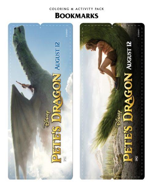 Pete's Dragon bookmarks