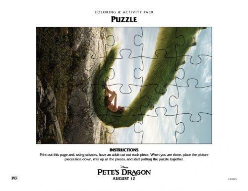 Pete's Dragon puzzle