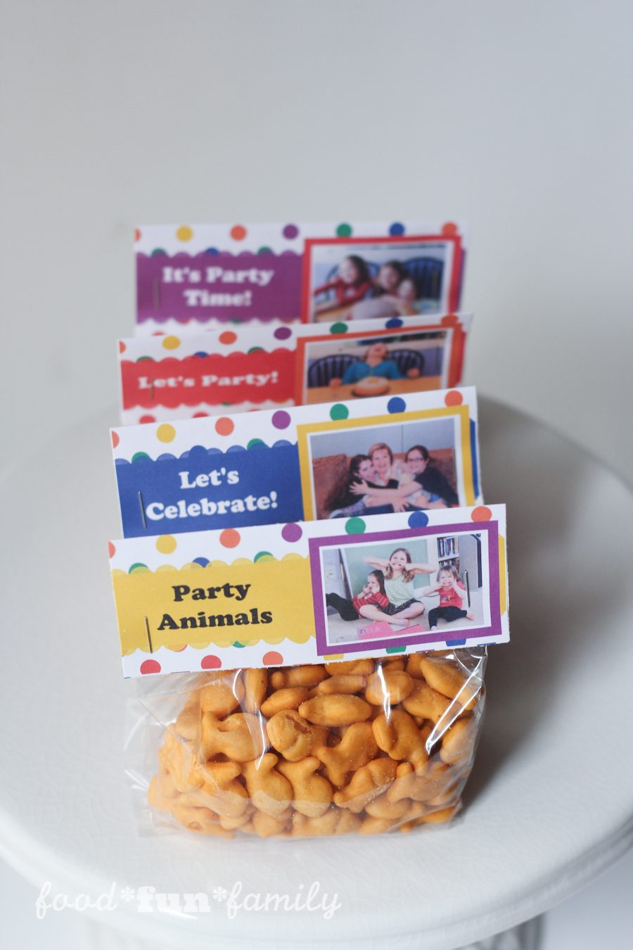 Snack Bag toppers