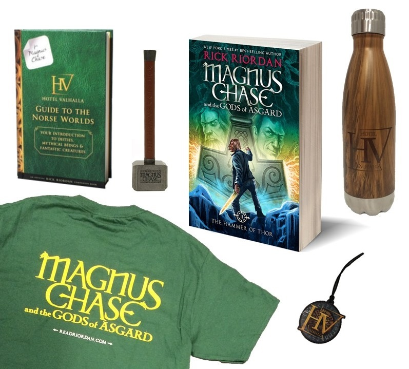 Magnus Chase prize pack
